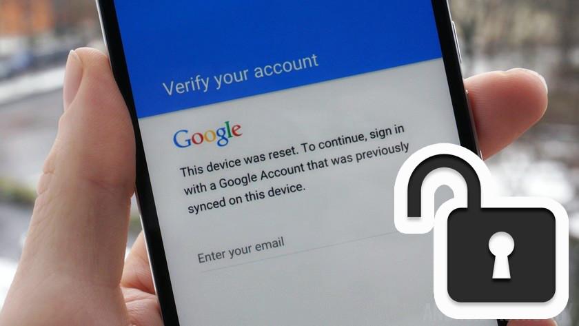 google frp frp factory reset protection